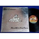 Bad Company - Run With The Pack - Lp - 1976 - USA - Capa metalizada
