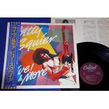 "Billy Squier - Live! & More - 12"" EP - 1983 - Japão"