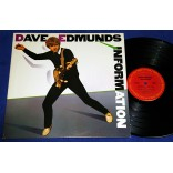 Dave Edmunds - Information - Lp Promocional - 1983 - USA - Stray Cats