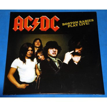 AC/DC - Boston Babies Play Live! - Lp - 2018 - EU - Lacrado