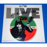AC/DC - Live From The Atlantic Studios - Lp PROMO - USA - Lacrado