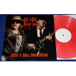 AC/DC - Hired Gun Rock N Roll Damnation - Lp Vermelho - Australia - Guns N Roses