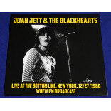 Joan Jett & The Blackhearts ‎- Live At The Bottom Line Lp 2019 EU Lacrado
