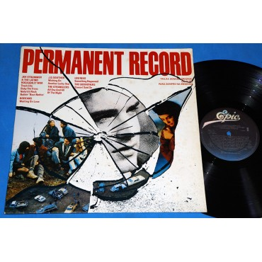 Permanent Record - Trilha Sonora Lp - 1988 - Joe Strummer Lou Reed
