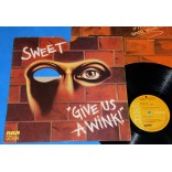 Sweet - Give Us A Wink - Lp - 1976