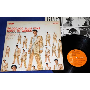 Elvis Presley ‎- 50000000 Elvis Fans can´t be wrong - Lp - 1976 - USA