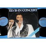 Elvis Presley ‎- Elvis In Concert - Lp - Duplo - 1977 - USA