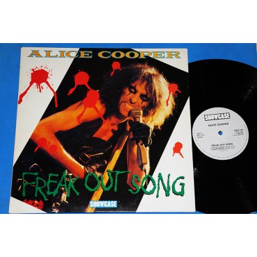 Alice Cooper - Freak out song - Lp - 1985 - UK