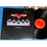 Aerosmith - Rocks - Lp - 1976 - USA - Capa texturizada