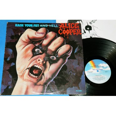 Alice Cooper - Raise Your Fist And Yell - Lp - 1987 - USA