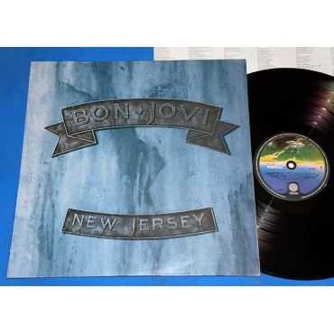 Bon Jovi ‎- New Jersey - Lp - 1988
