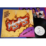 HSAS - Through The Fire - Lp - 1984 - USA - Sammy Hagar Van Halen