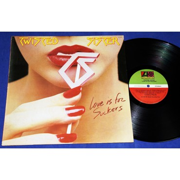 Twisted Sister - Love Is For Suckers - Lp - 1987