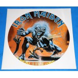Iron Maiden ‎- A Real Live One - Picture Disc Promo - UK