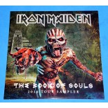Iron Maiden - The Book Of Souls 2016 Tour Sampler - Lp - 2016 - Lacrado