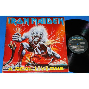 Iron Maiden - A Real Live One - Lp - 1993