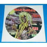 Iron Maiden - Killers - Picture Disc Promo - UK - 1981