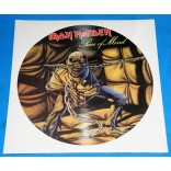 Iron Maiden - Piece of Mind - Picture Disc Promo - UK