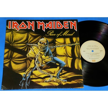 Iron Maiden - Piece of Mind - Lp - 1985