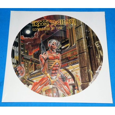 Iron Maiden - Somewhere in time - Picture Disc Promo - Holanda
