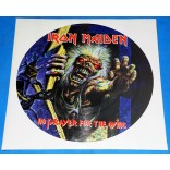 Iron Maiden - No Prayer For The Dying - Lp Picture Disc Promo -1998 - UK - Lacrado