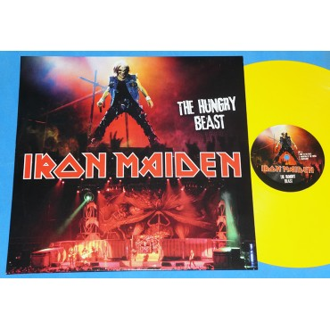 Iron Maiden - The hungry beast - Lp Amarelo - UK - Lacrado
