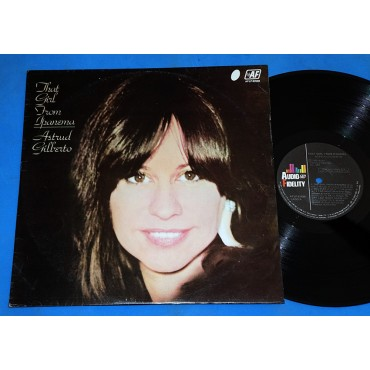 Astrud Gilberto - That Girl From Ipanema - Lp - 1982