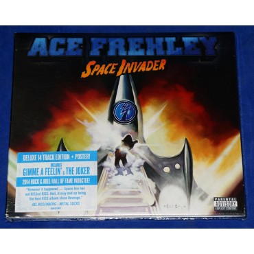 Ace Frehley - Space Invader - Cd Deluxe Lacrado - USA - 2014 - Kiss