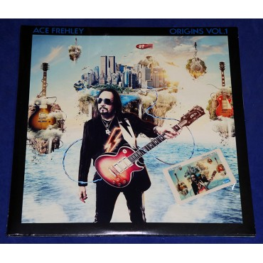 Ace Frehley - Origins Vol.1 - 2 Lp's 2016 USA Lacrado Ed Limitada