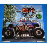 Kiss - 40 years 8430 Sunset Strip - Lp Verde + Dvd - Lacrado