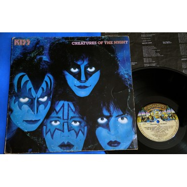 Kiss - Creatures of the night - Lp - 1983