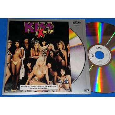 Kiss - Exposed - Laserdisc - 1987 - USA