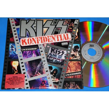 Kiss - Konfidential - Laserdisc - 1993 - USA
