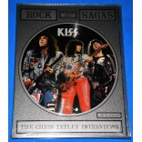 "Kiss - Rock Sagas - 7"" Duplo Retangular - 1988 - UK"