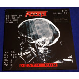 Accept - Death Row - 2Lps 2017 EU Lacrado