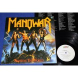 Manowar - Fighting The World - Lp - 1987