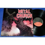 Metal Church  - 1° Lp - 1986 - Brasil