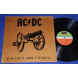 AC/DC - For Those About to Rock - Lp - 1981