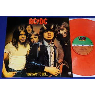 AC/DC - Highway to hell - Lp Laranja - UK - Lacrado