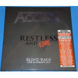 Accept - Restless And Live Box 4 Lp's + Poster 2017 - Alemanha - Lacrado