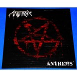 Anthrax - Anthems - Lp - 2013 - USA - Lacrado - Vinil splatter