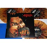 "Anthrax - Fistful of Metal / Armed And Dangerous - 3 Lp's - 10"" Splater - 2009 - USA - Lacrado"