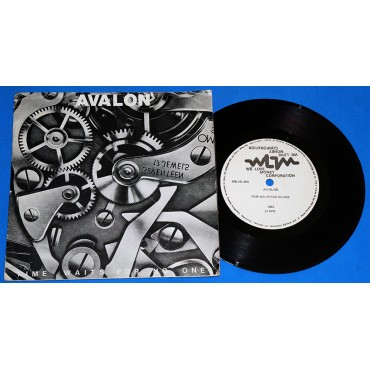 "Avalon - Time Waits For No One - 7"" Single - 1992 We Love Money"