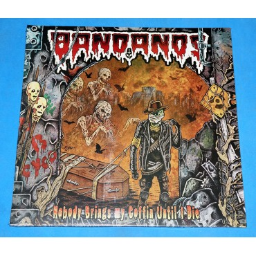 Bandanos ‎- Nobody Brings My Coffin Until I Die - Lp - 2014 - Lacrado