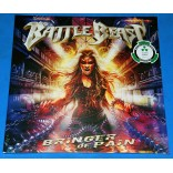 Battle Beast - Bringer Of Pain - 2 Lp's Clear Lacrado 2017 EU