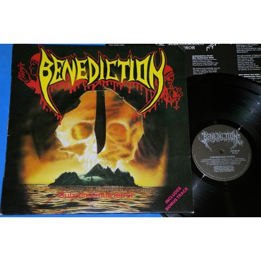 Benediction - Subconscious terror + 1 - Lp - 1992 - Brasil - Rock Brigade