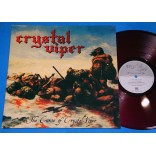 Crystal Viper - The Curse Of Crystal Viper -  Lp - 2007 - Alemanha - Leather