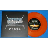 "Nuclear Assault - Pounder - 7"" Single - 2015 - Edição Limitada - Metal Maximus"