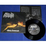 "NunSlaughter / Derketa - Evil Dreams / Begotten Son - 7"" Single - 2000 - Alemanha"