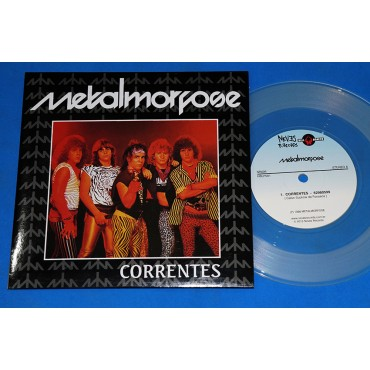 "Metalmorfose - Correntes - 7"" Single Limitado - 2015 - Neves Records - Metalmorphose - Die Hard"